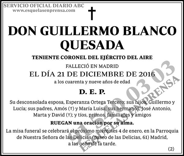 Guillermo Blanco Quesada